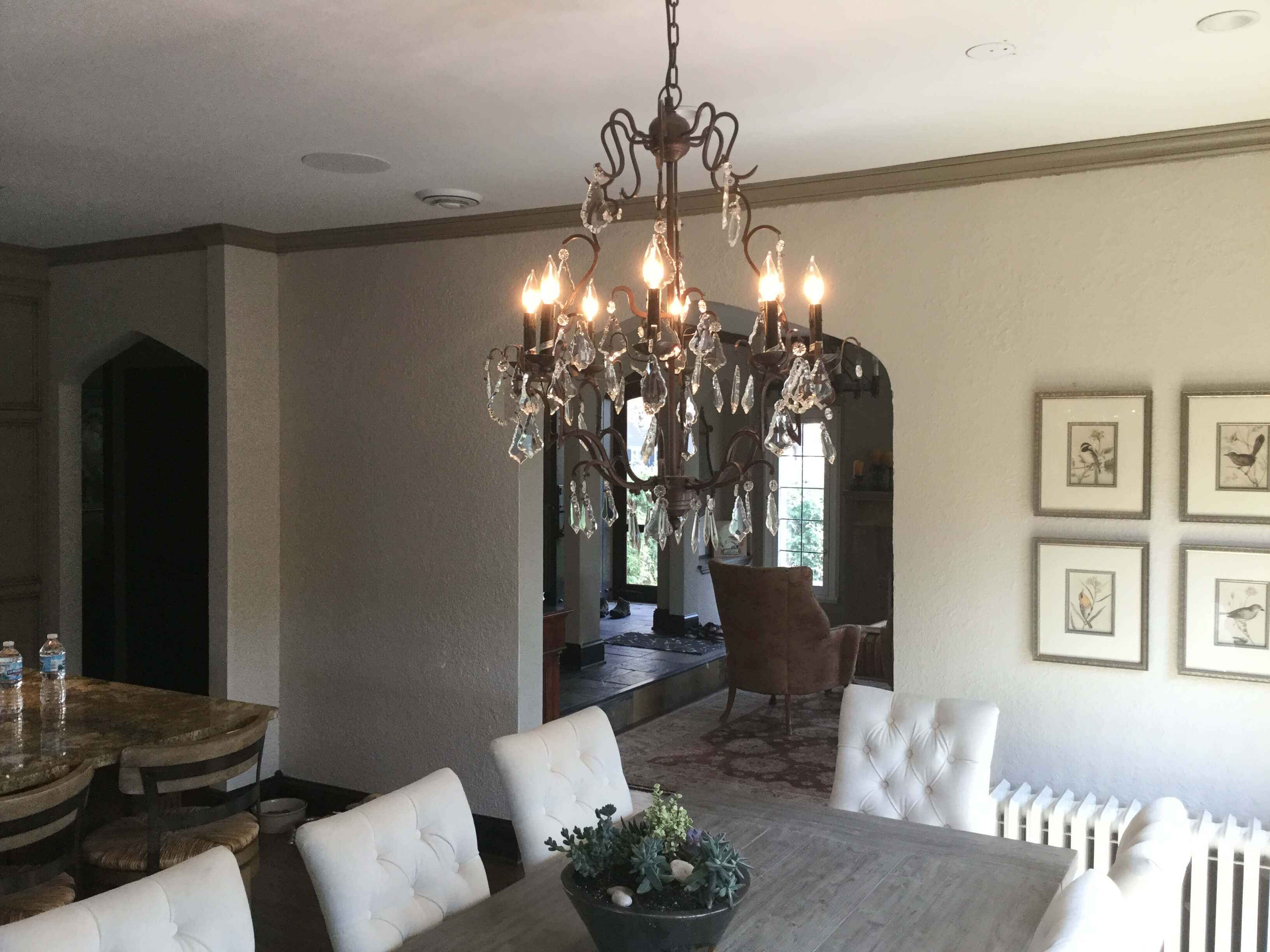 Restoration Hardware Light Install 3