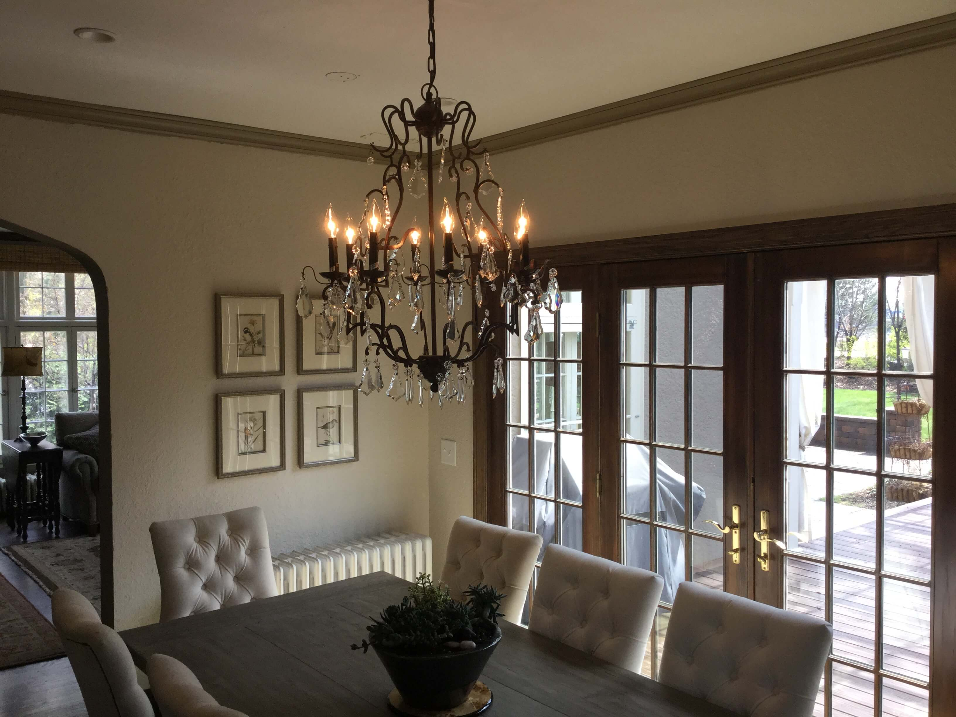 Restoration Hardware Lighting Dining Room Restoration